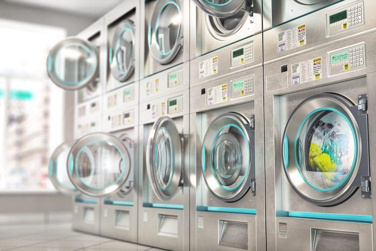 desinfección en lavandería