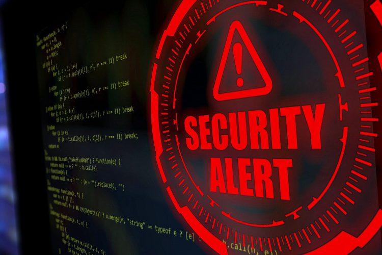 alerta de ciberseguridad security alert
