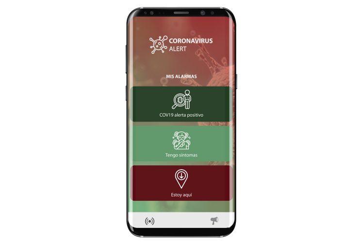 SoftGuard Coronavirus Alert app