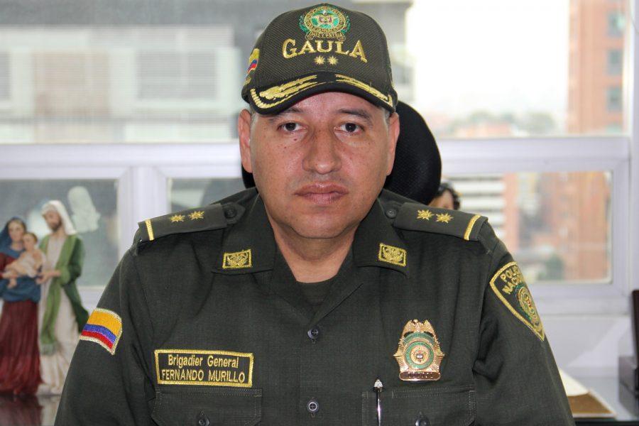 Fernando Murillo Policía Nacional de Colombia