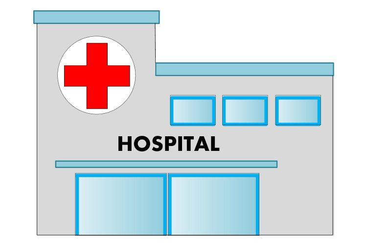 hospital infraestructuras críticas dibujo