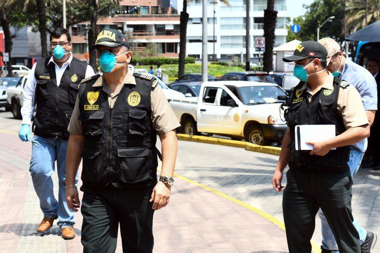 Policía Nacional del Perú coronavirus