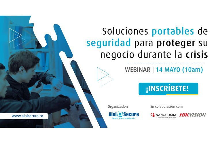 Alai Secure webinar Colombia inscripción