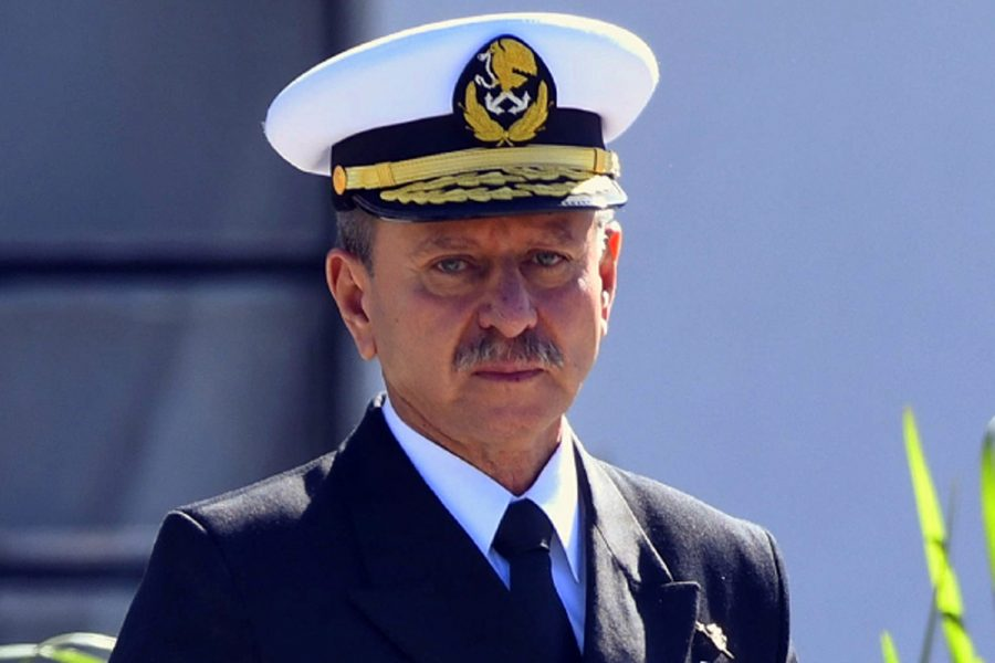 Almirante José Rafael Ojeda Durán secretario de Marina