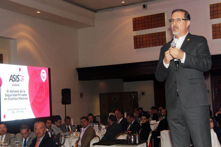 Carlos Seoane ASIS Capítulo México