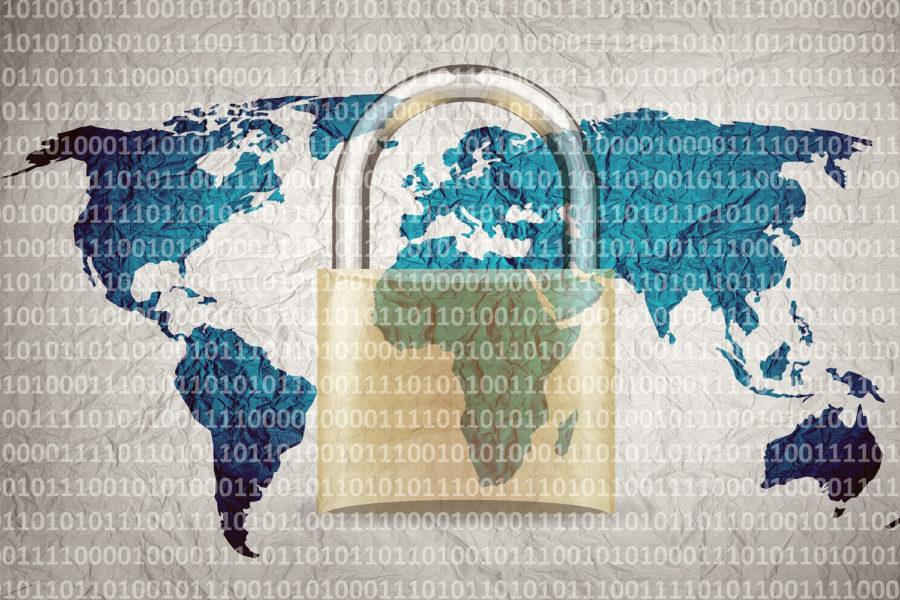 ciberseguridad mapa mundial