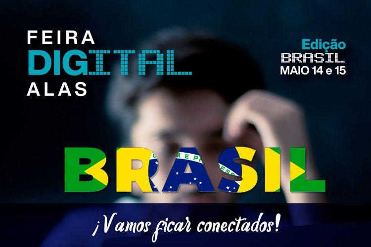 Feria Digital ALAS Brasil 14 y 15 de mayo 2020