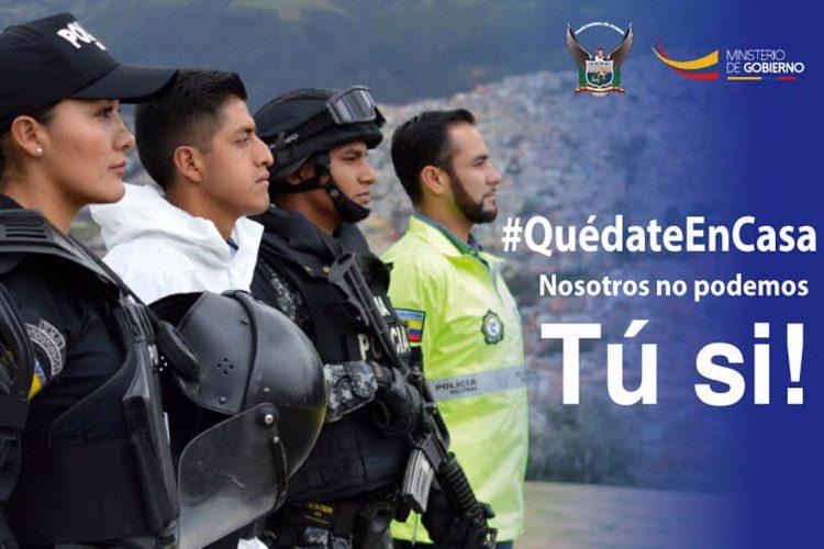 Policía Nacional y Fuerzas Armadas de Ecuador