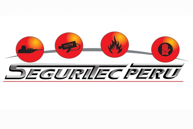 Seguritec Perú 2020 logo.