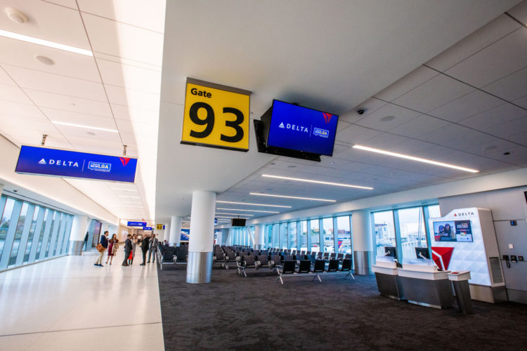Delta Air Lines aeropuerto LaGuardia Nueva York