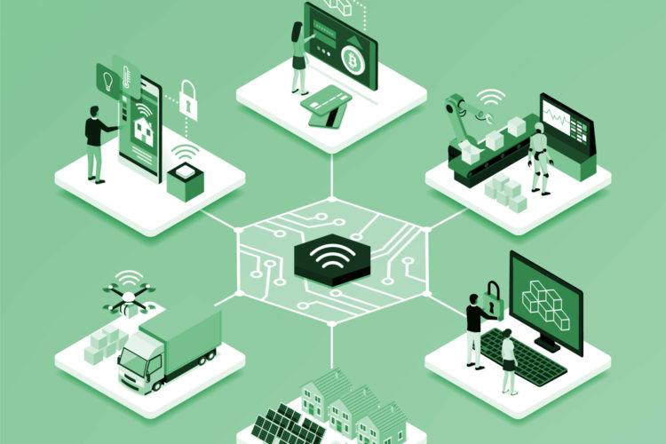 soluciones de securización blockchain e IoT