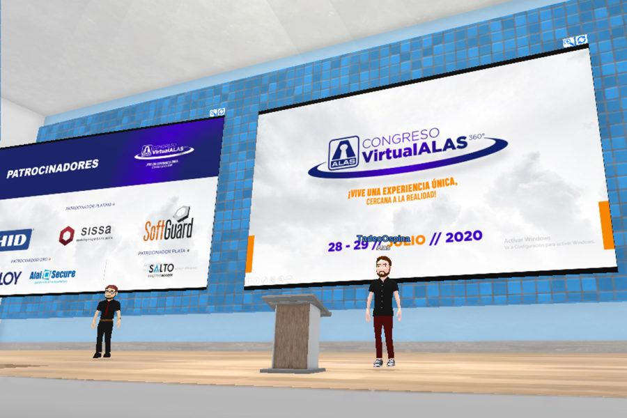 Cogreso Virtual ALAS 360º auditorio