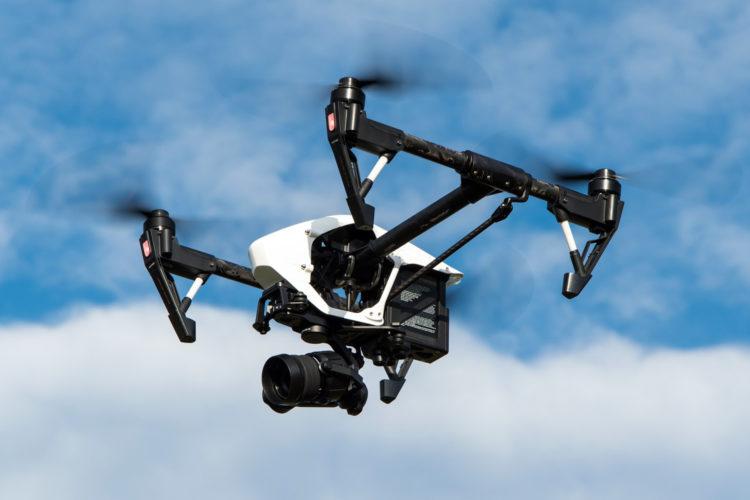 drones en aeropuertos