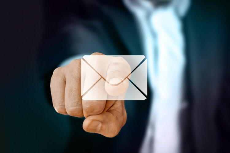 email campaña de malware