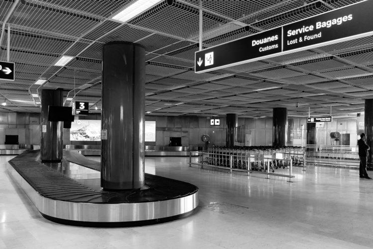 aeropuerto recogida de equipajes