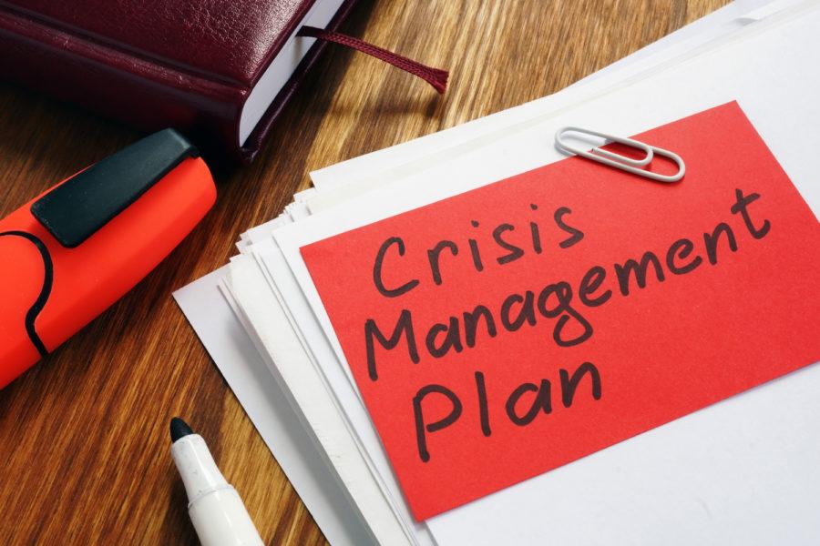 continuidad de negocio crisis management plan