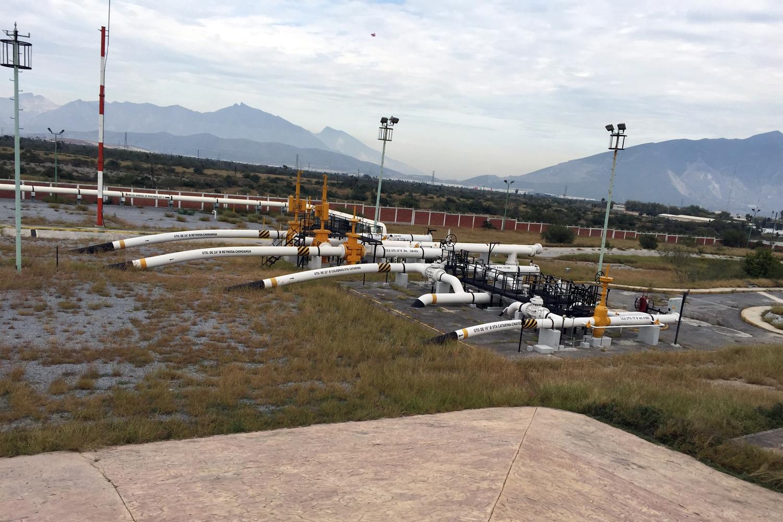 estación Santa Catarina Cenagas México