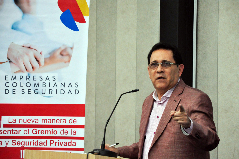 José Saavedra presidente de ECOS seguridad privada Colombia