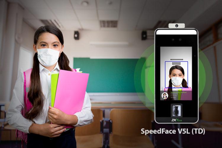 ZKTeco SpeedFace V5L (TD) colegios
