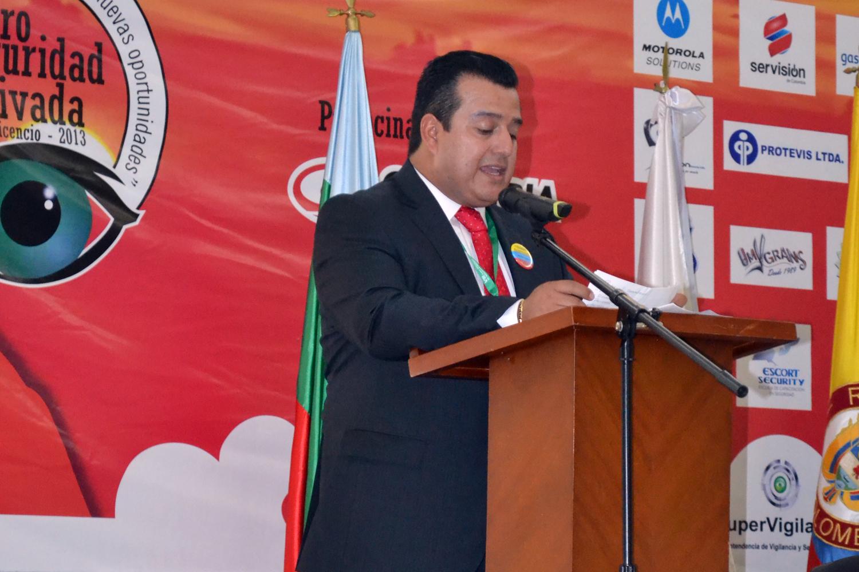 Seguridad privada Carlos Casas presidente de la Asociación Nacional de Entidades de Seguridad Privada Andevip de Colombia