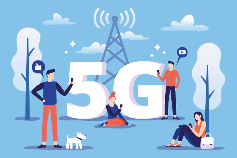 ciberseguridad tecnología 5G usuarios con dispositivos