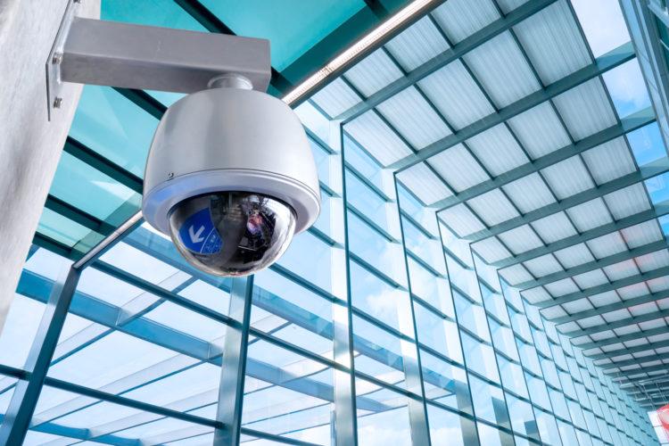 curso de seguridad física y electrónica de ALAS cámara de videovigilancia
