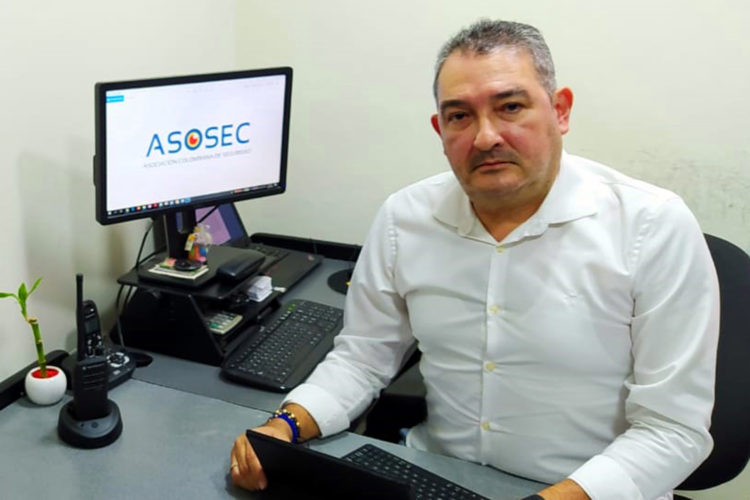 Gabriel Berrio presidente de Asosec