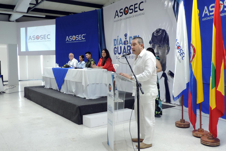 seguridad privada Gabriel Berrio presidente de Asosec