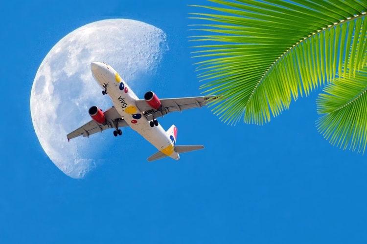 avión de Viva Air Colombia