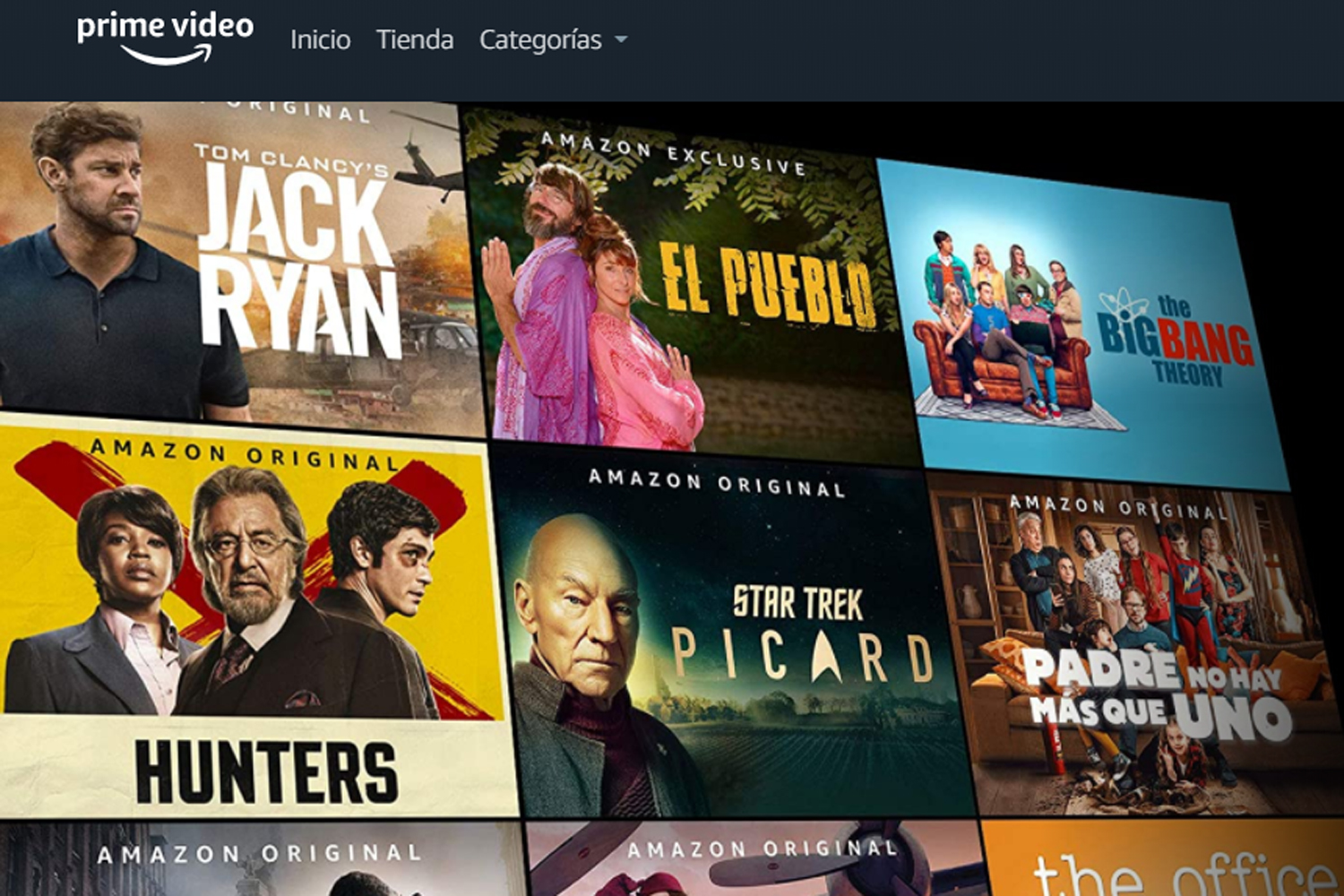 Troyanos y suplantación de identidad Amazon Prime Video