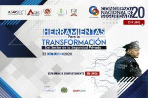seguridad privada Congreso Nacional de Seguridad 2020 Colombia