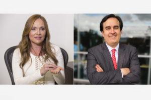 Lina María Mejía Gómez y Nicolás Botero, presidenta y director ejecutivo de FedeSeguridad