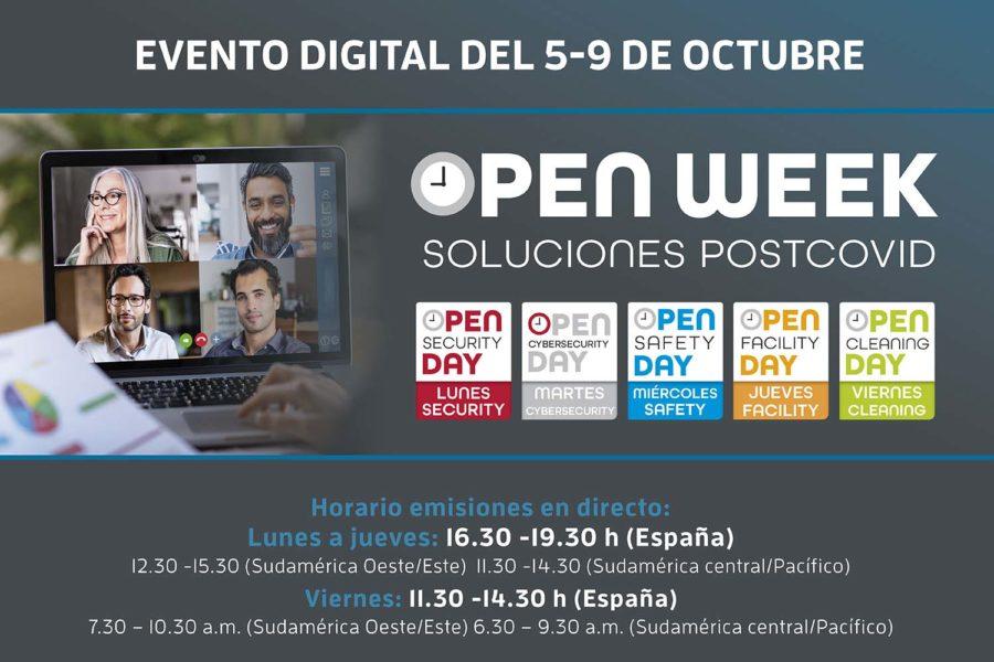 Logo Open Week horarios
