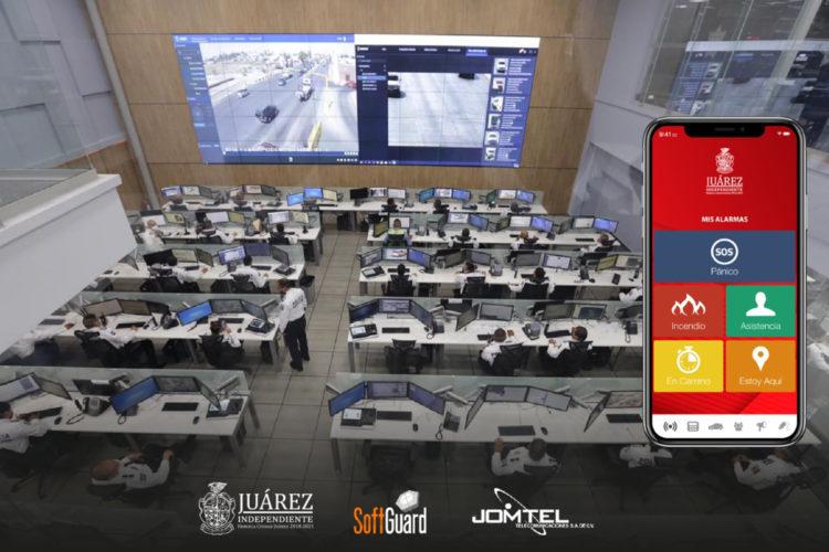 Nuevo CERI 911 de Ciudad Juárez en el que ha participado SoftGuard