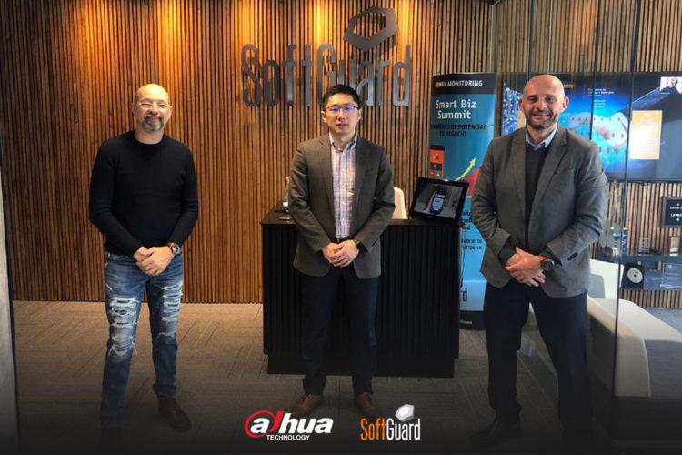 Directivos de SoftGuard y Dahua Technology en Buenos Aires