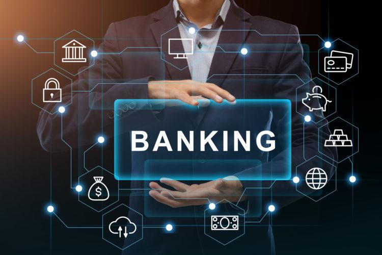 concepto de seguridad bancaria