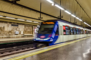 Seguridad en el metro de Madrid