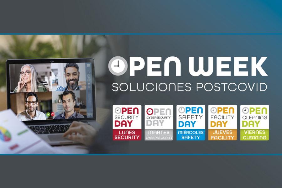 Open Week Soluciones Post-COVID 2020 logos