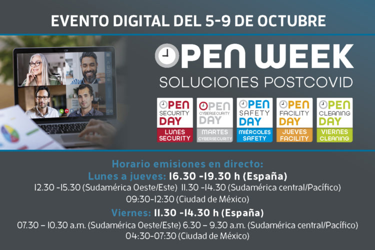 Open Week Soluciones Post-COVID 2020 horarios Latinoamérica