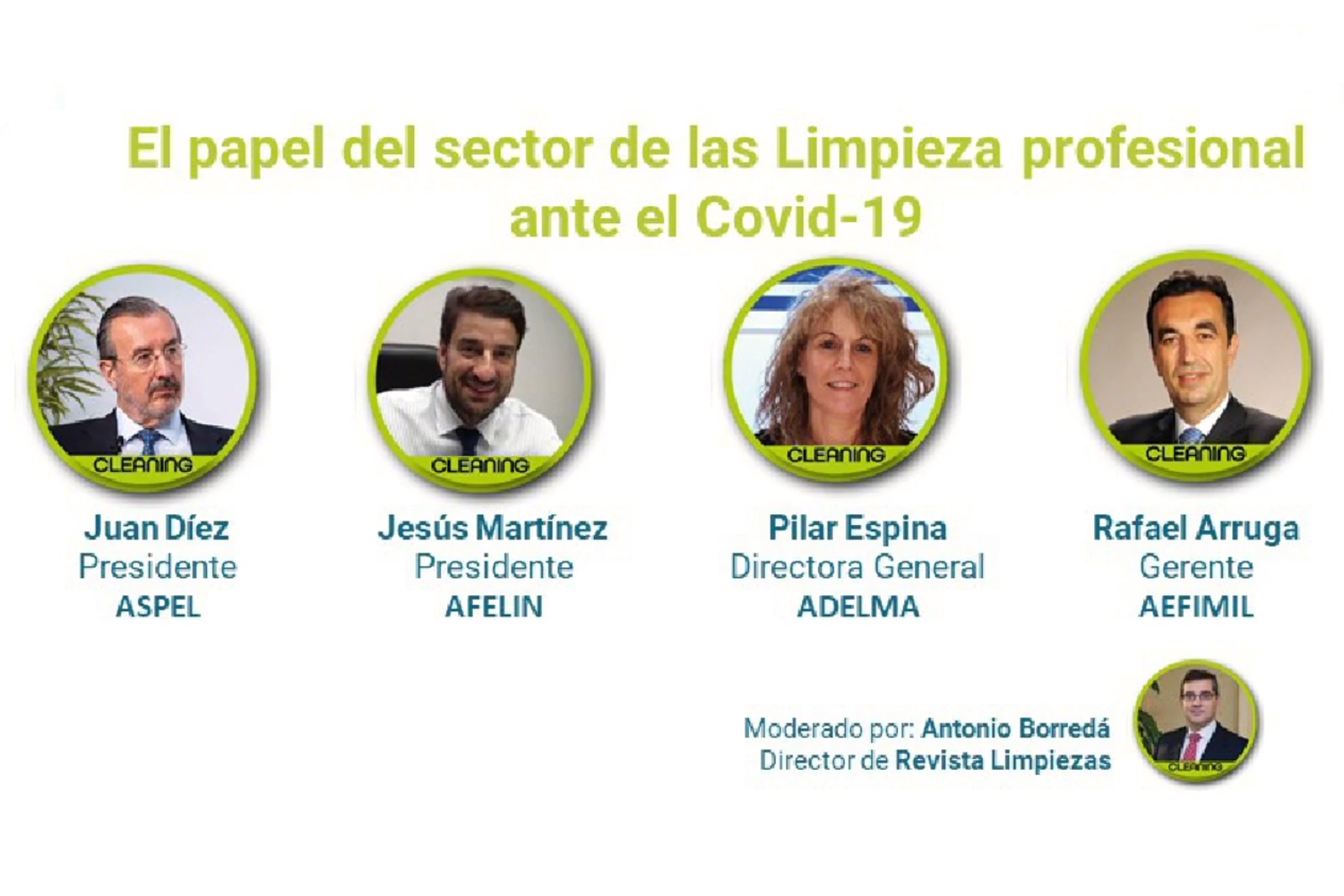 Open Week Soluciones Post-COVID 2020 panel Cleaning