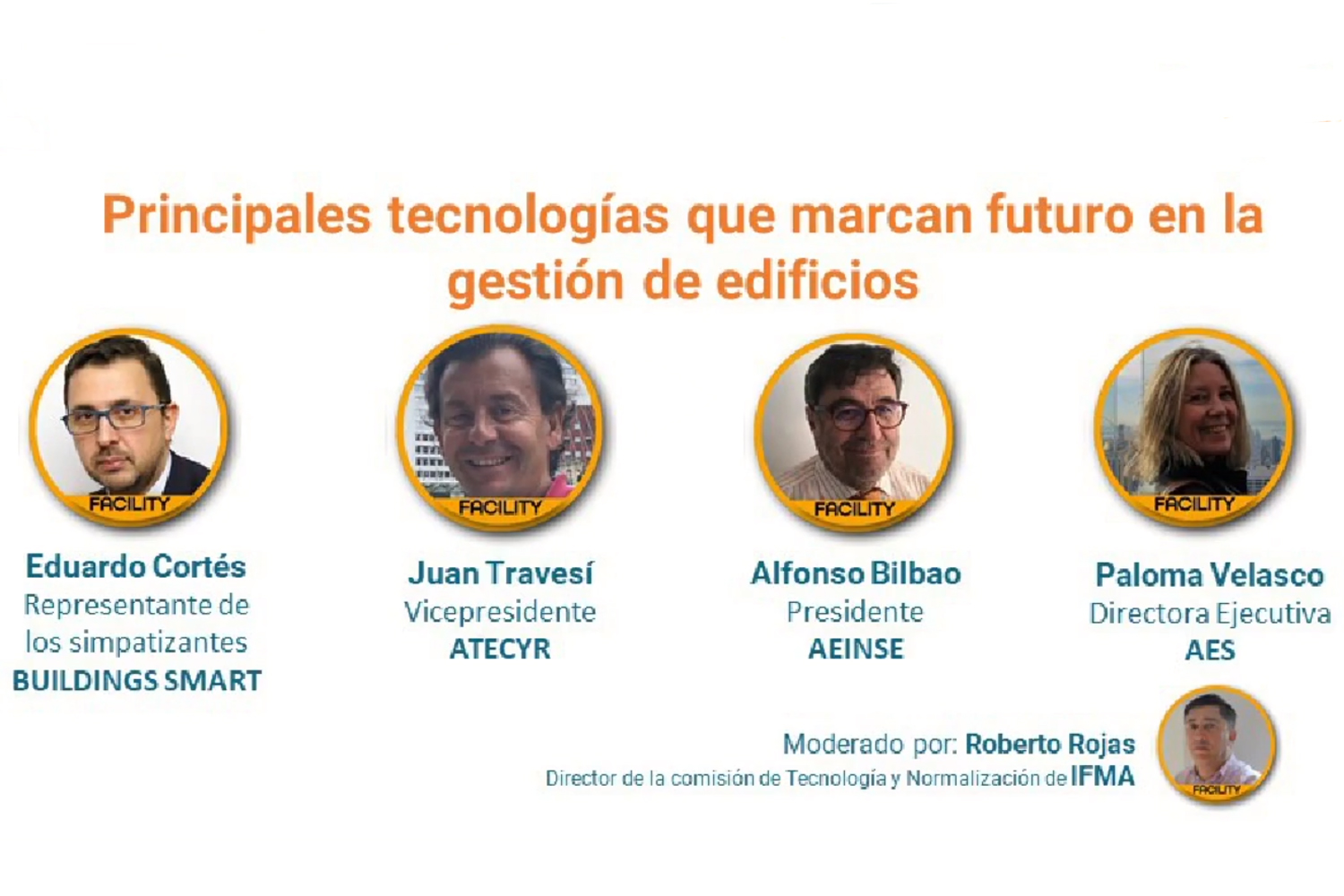Open Week Soluciones Post-COVID 2020 panel Facility Management