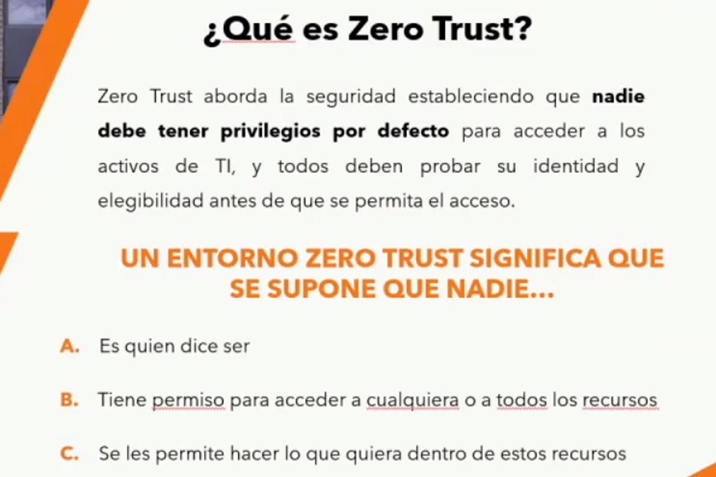 ciberseguridad qué es Zero Trust
