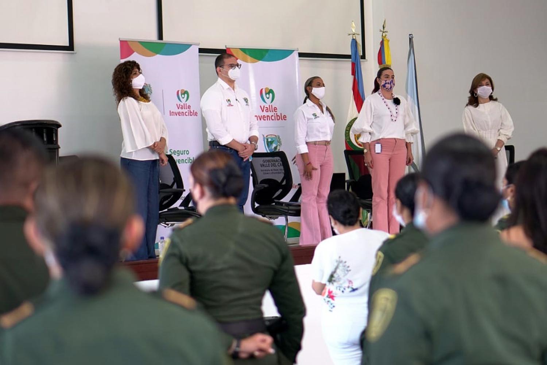 seguridad privada presentación del capítulo Seguridad y Mujer en el Valle del Cauca
