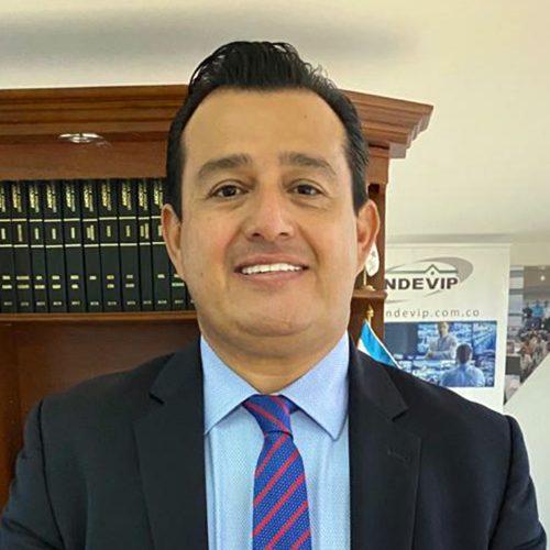 Carlos Alberto Casas Castillo presidente de Andevip