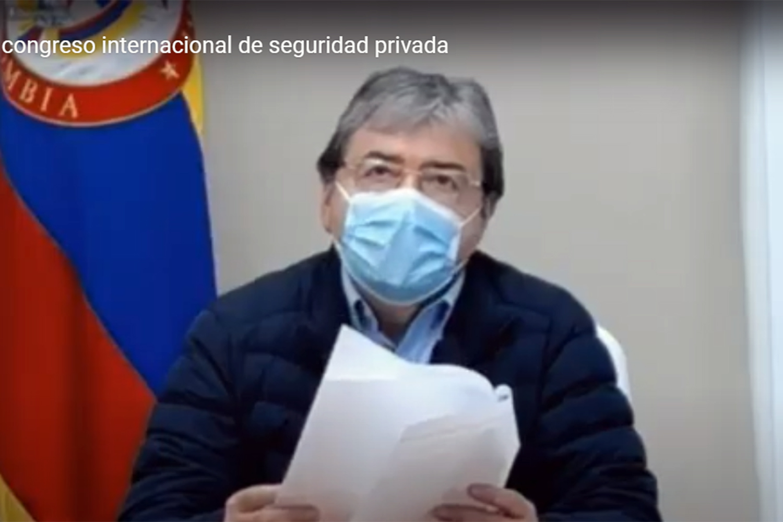 seguridad privada Carlos Holmes Trujillo ministro de Defensa de Colombia