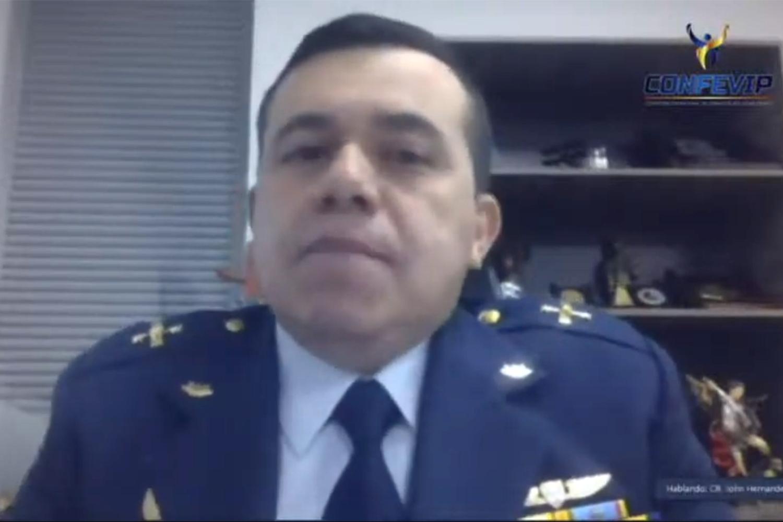 ciberseguridad e infraestructuras críticas Coronel John Fredy Hernández jefe de Estado Mayor del Comando Conjunto Cibernético (CCOCI)