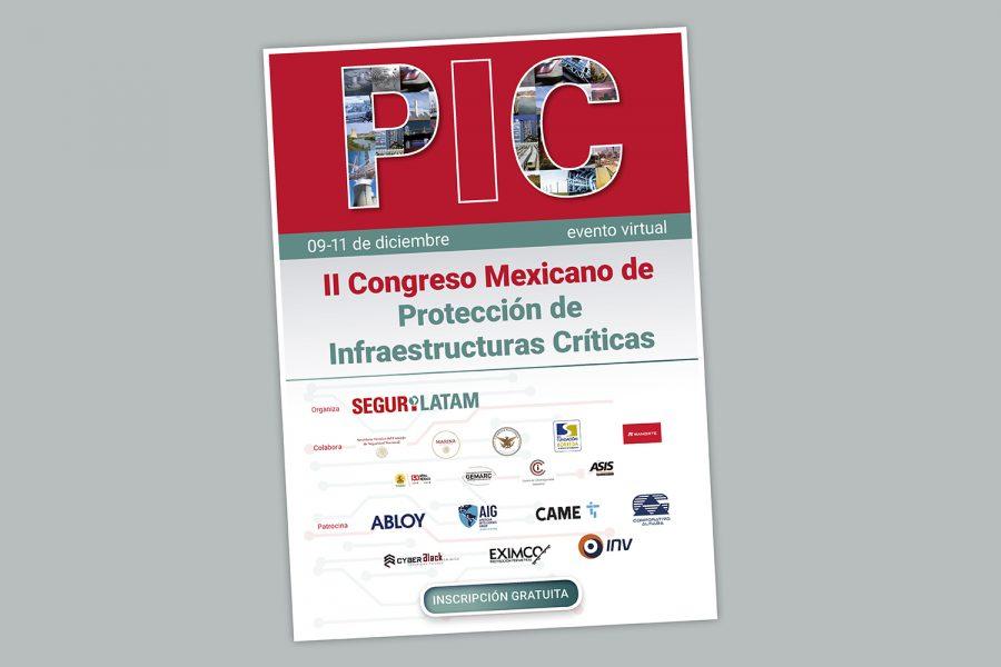 II Congreso Mexicano de Protección de Infraestructuras Críticas de Segurilatam