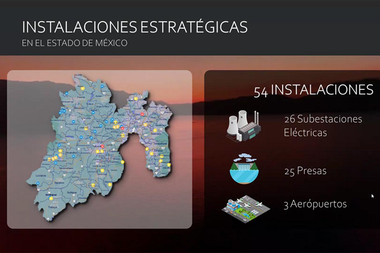 infraestructuras críticas e instalaciones estratégicas del Estado de México