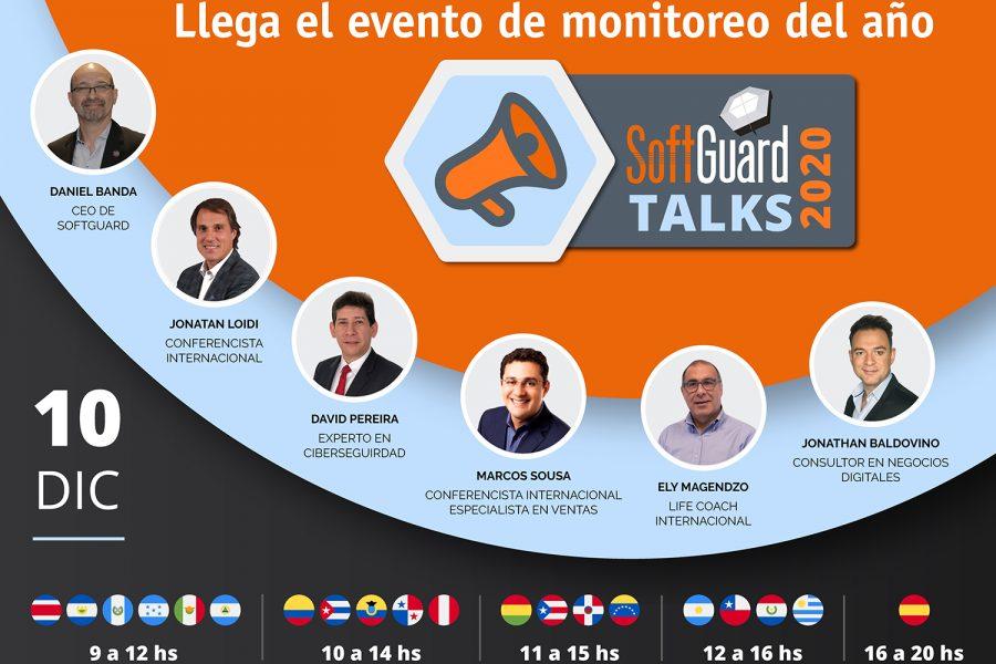 SoftGuard Talks 2020 ponentes
