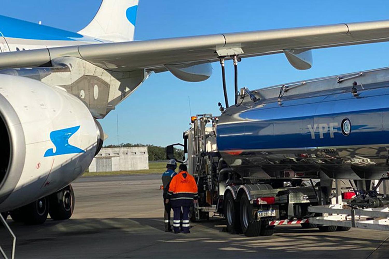 infraestructuras críticas repostaje de avión
